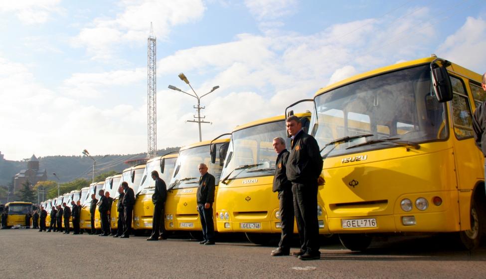 ავტობუსებისა და მარშრუტკების მძღოლთა სამუშაო რეჟიმი მკაცრად გაკონტროლდება