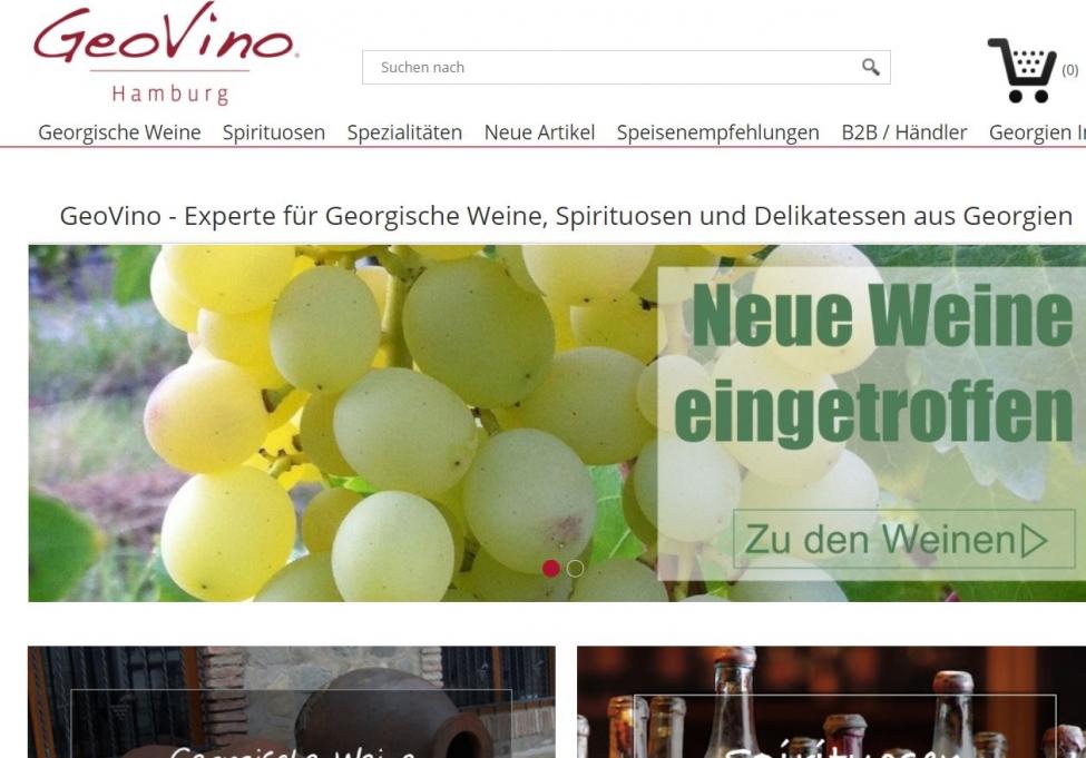 GeoVino ევროკავშირში ქართულ ღვინოებსა და სხვა პროდუქტებს ონლაინ ყიდის