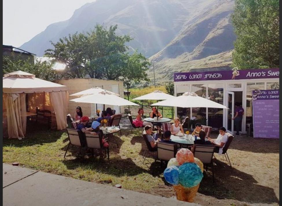 """""""ანოს სვით ქორნერი"""" - ყაზბეგის LAG-ის პროექტით დაფინანსებული კაფე ტურისტებს იზიდავს"""