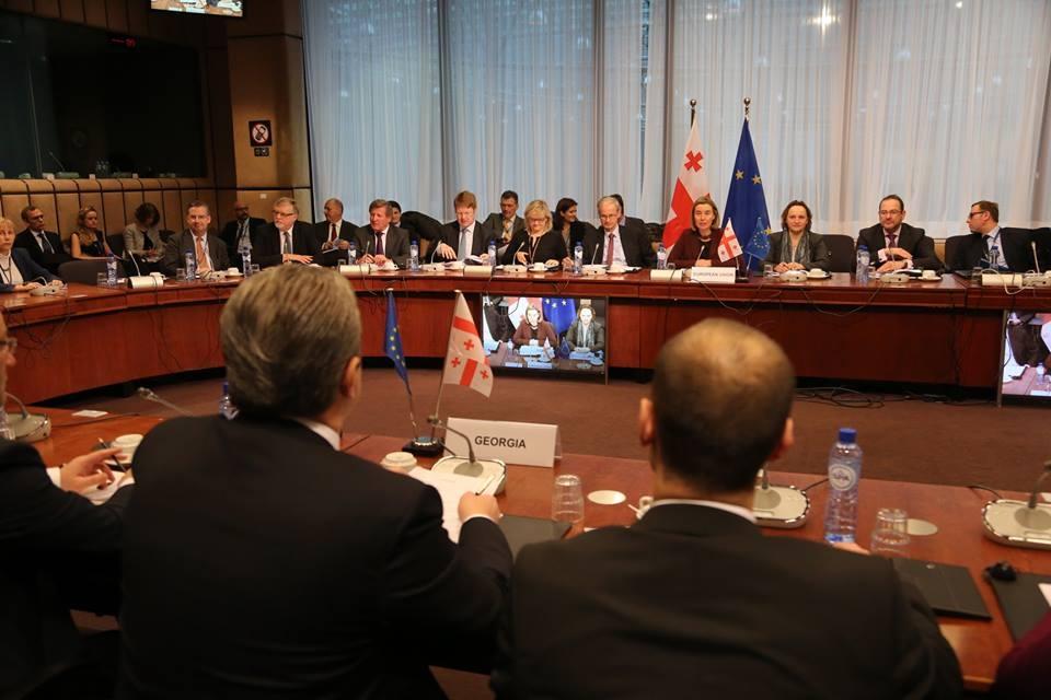 ასოცირების საბჭომ საქართველო-ევროკავშირის ურთიერთობებში მიღწეული პროგრესი პოზიტიურად შეაფასა