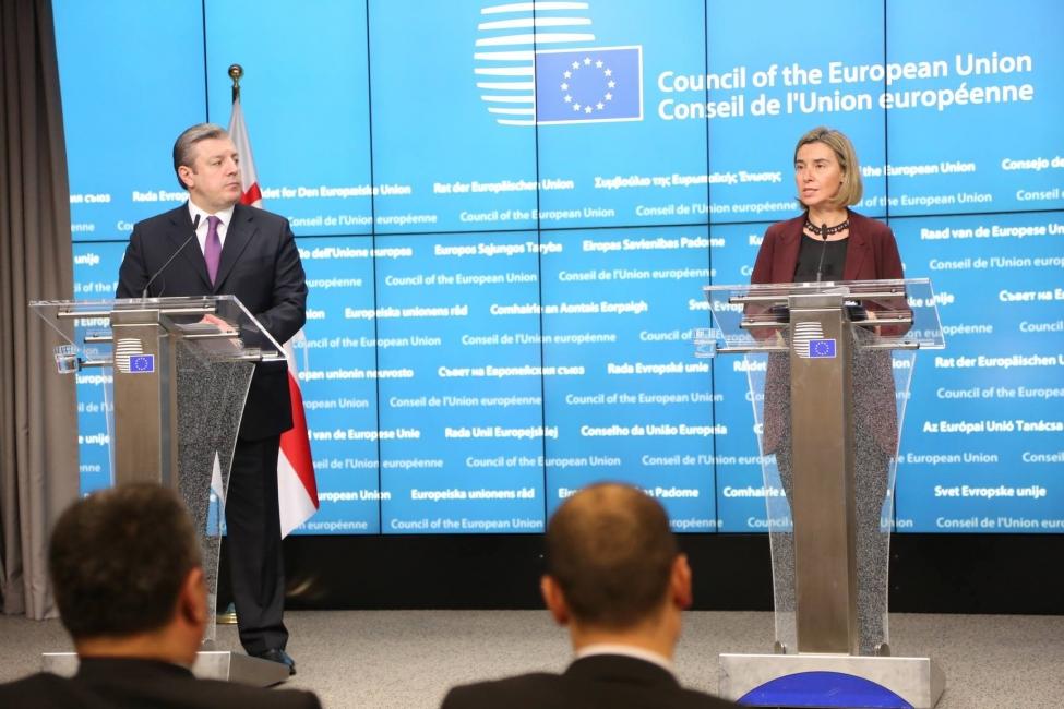 ფრედერიკა მოგერინი  მოუთმენლად ელოდება საბჭოსა და ევროპარლამენტის გადაწყვეტილებას, რათა ქართველ ხალხს უვიზო მიმოსვლის საშუალება მიეცეს