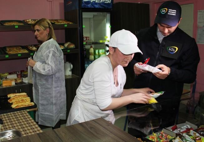 წლის დასაწყისიდან 53 ბიზნესოპერატორს კვების სექტორში საწარმოო პროცესი შეუჩერდა