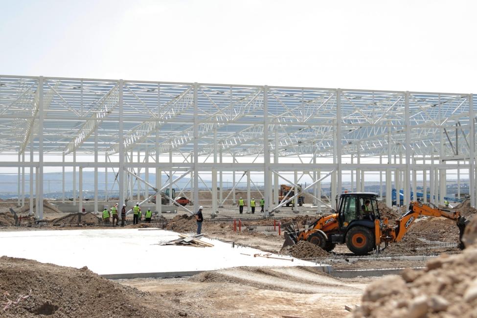 სამოქალაქო თვითმფრინავების ნაწილების მწარმოებელი ქარხნის მშენებლობა 2018 წლის ბოლოს დასრულდება